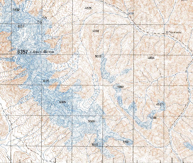 генштабовская карта двухкилометровка