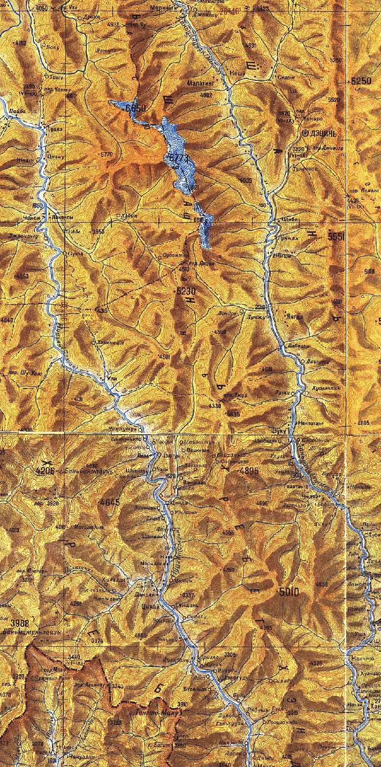 планирование маршрута по генштабовской пятикилометровке