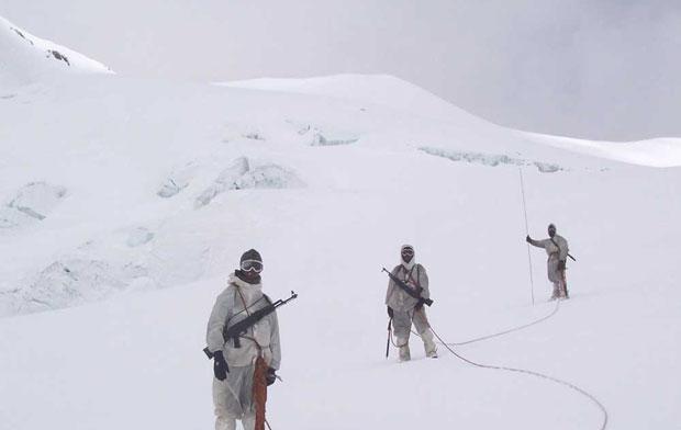 """24.02.13 Сценарная пострелушка """"Ледник Сиачен"""". Siachen-glacier"""