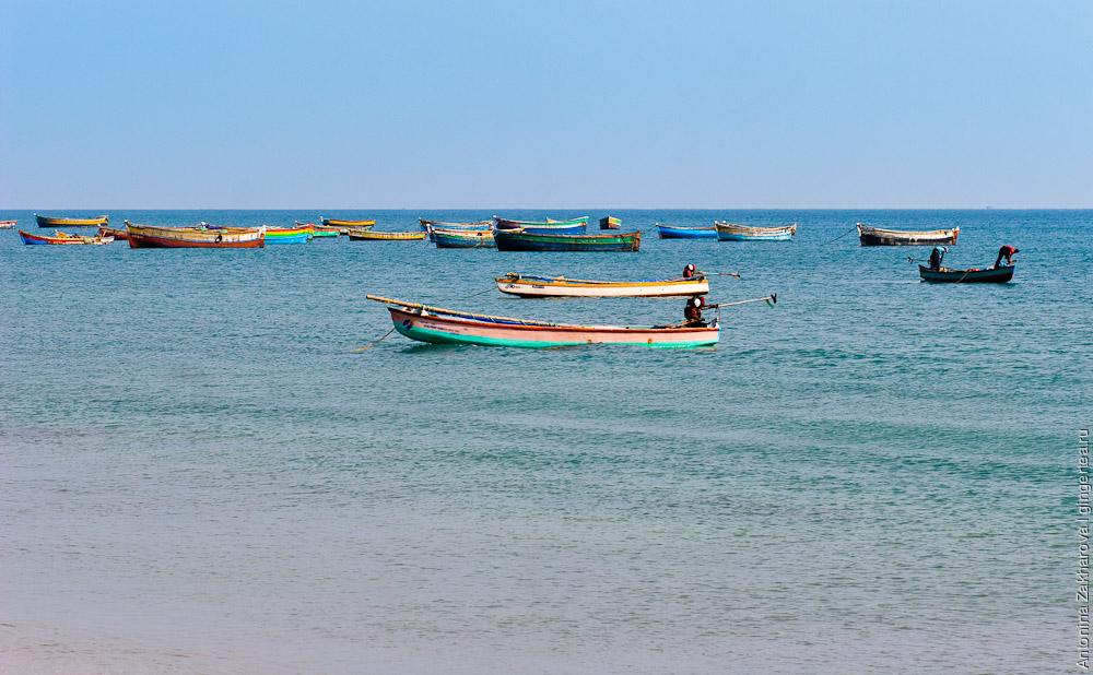 лодки в индии