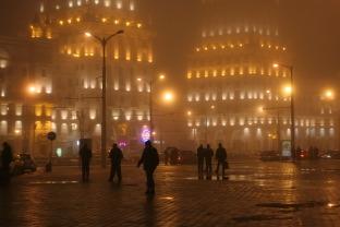 Минск: туманный советский город