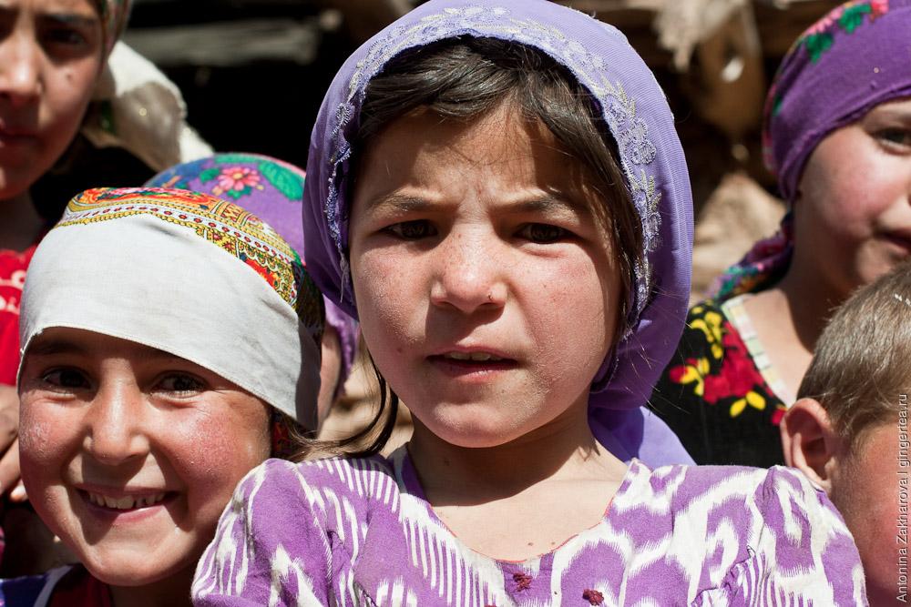 Жители Таджикистана. Фото