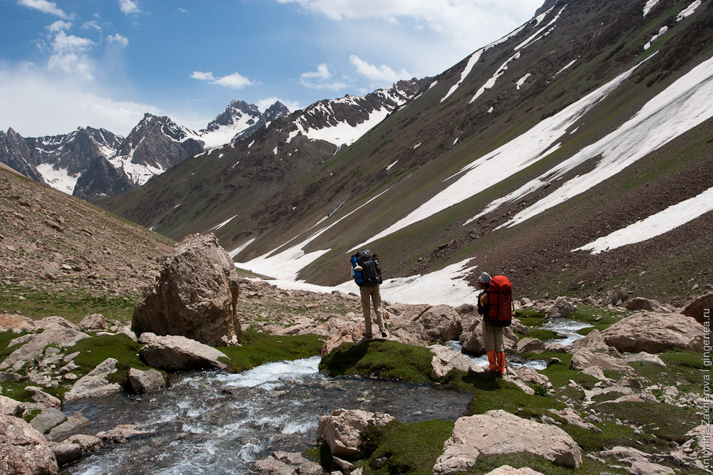 Поход по Фанским горам от Маргузорских озер к Искандеркулю