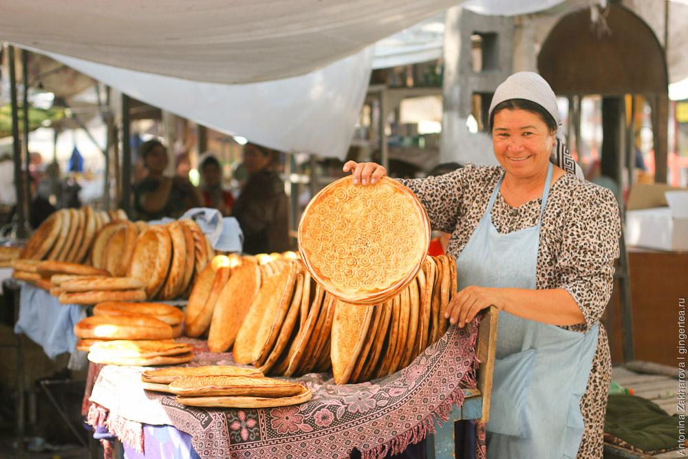 хлеб на базаре в узбекистане фото как это постоянно