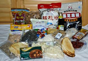 Какую еду взять в поход. Походная раскладка в Китае с примерами