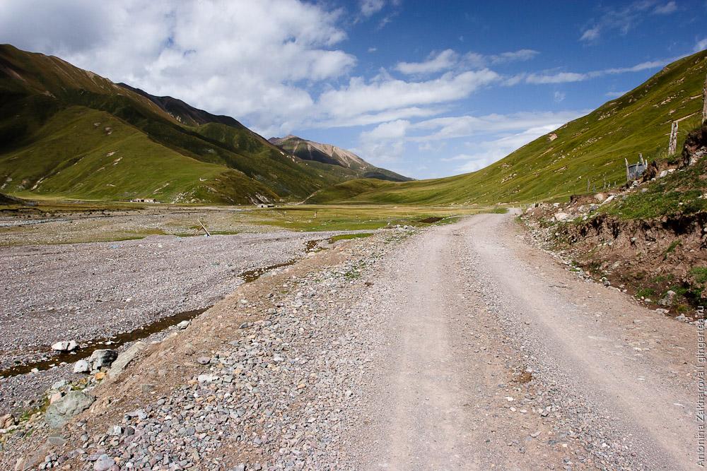 дорога к горе Амнэ-Мачин, way to Amnye Machen mountain