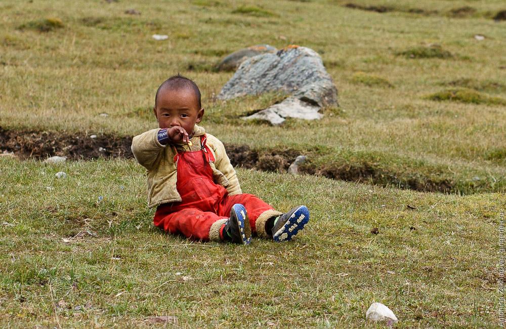 тибетский ребенок, tibetan baby