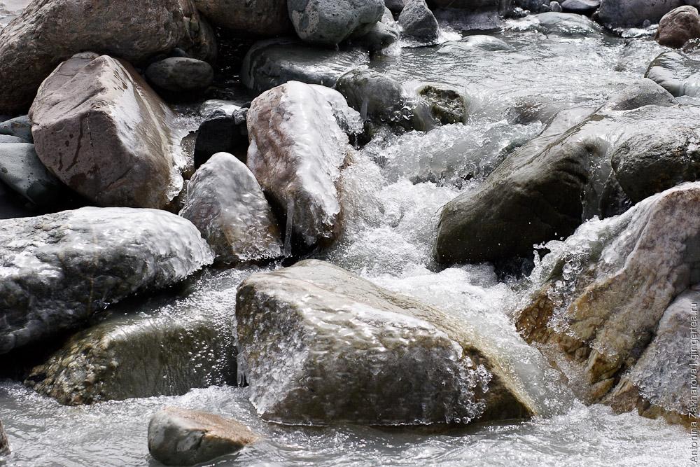 ледяная река, frozen river