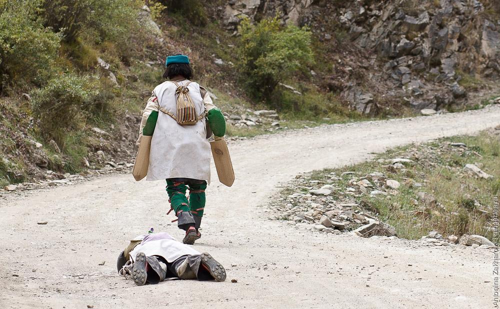 тибетские паломники, tibetan pilgrims