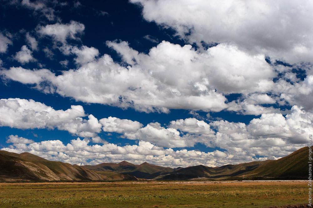 облака в Амдо