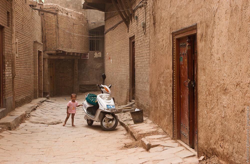 Кашгар = Уйгурия + Китай. Слияние китайской и мусульманской культуры