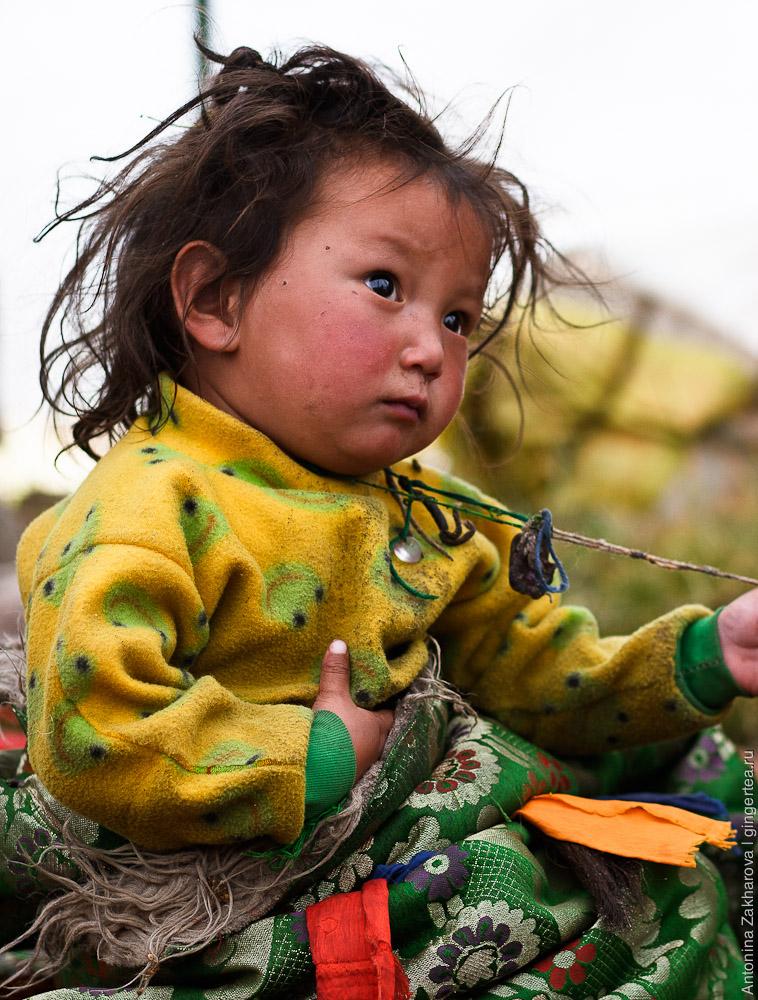 Тибетский ребенок