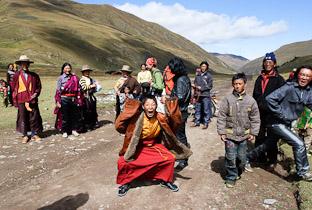 Тибетский праздник