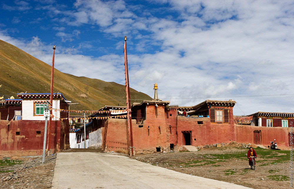 тибетский монастырь в Цинхае