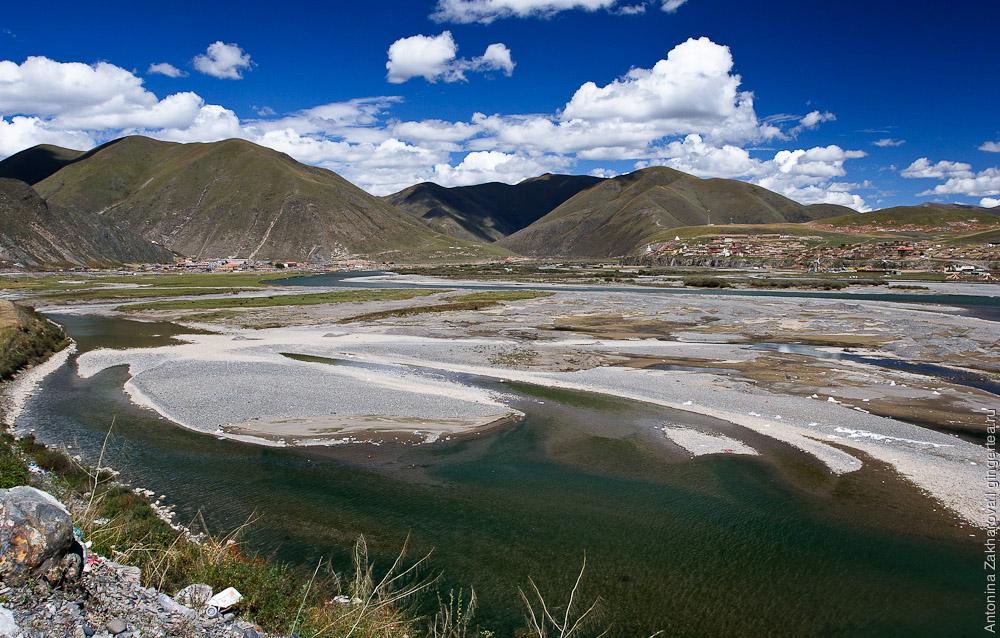 долина реки Ялунцзян