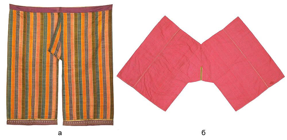 широкие и прямые индийские шальвары