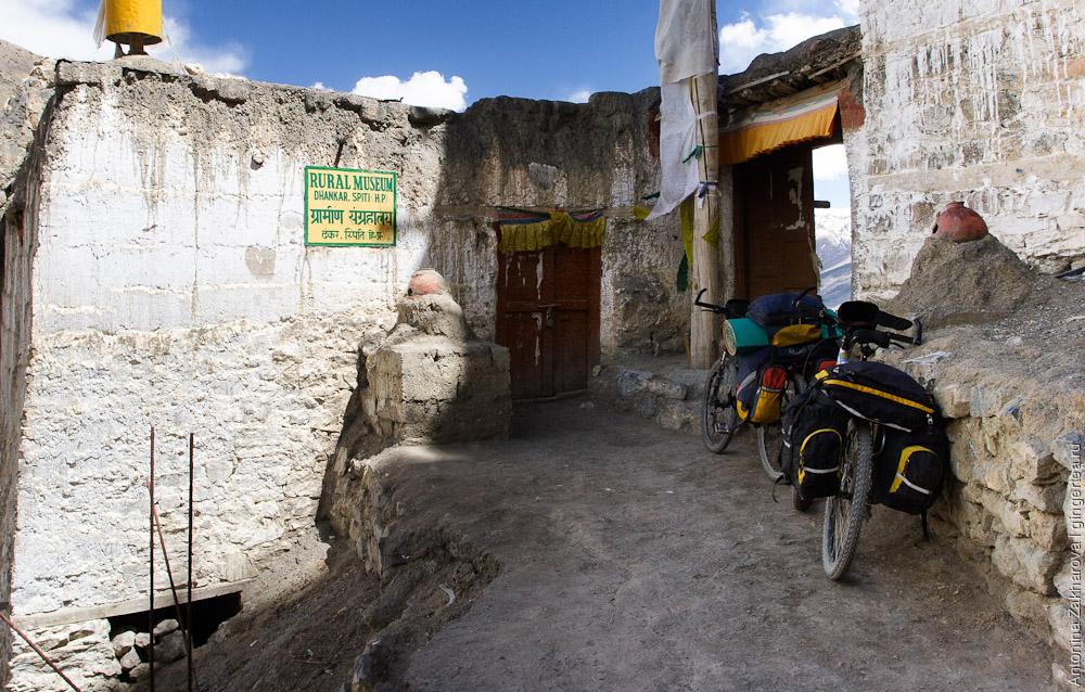 велопоход в Индии в долине Спити, cycling in India in Spiti valley