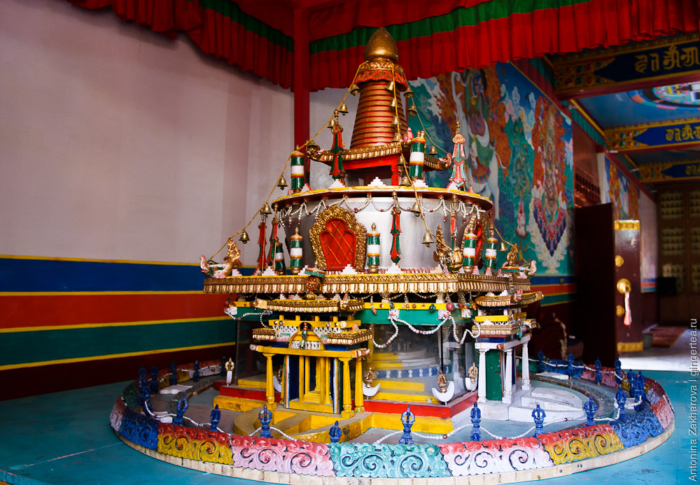 модель буддийской ступы