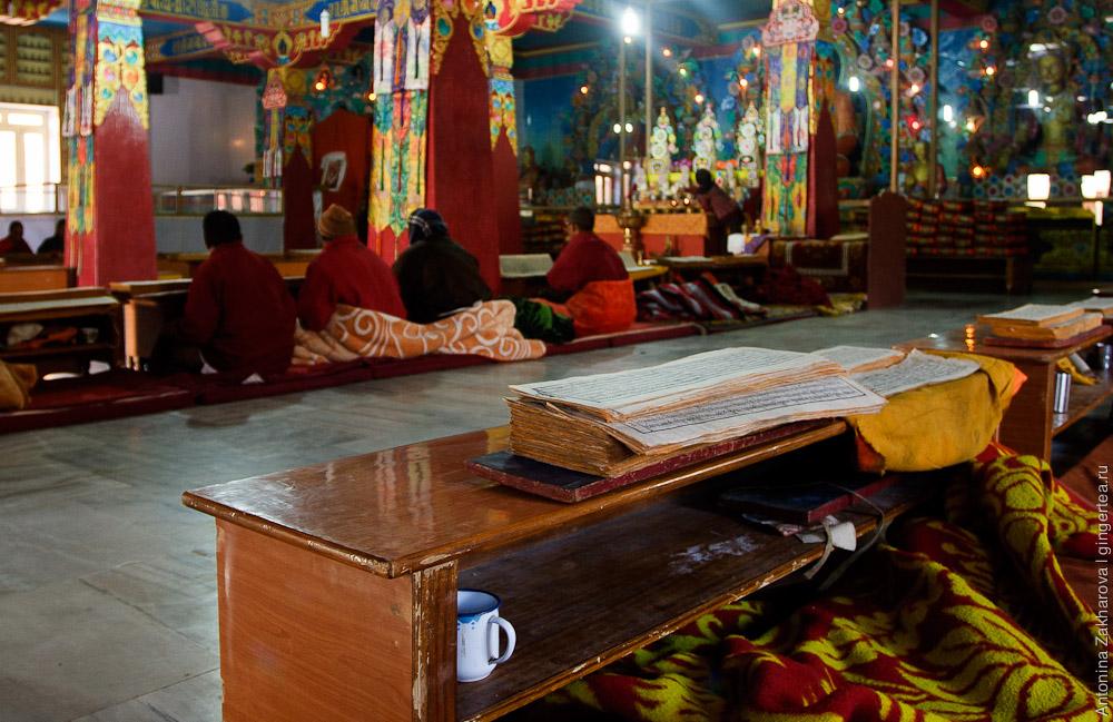 монастырь в Кунгри