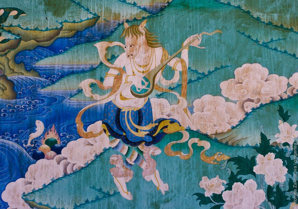 лошадь символ тибетского буддизма