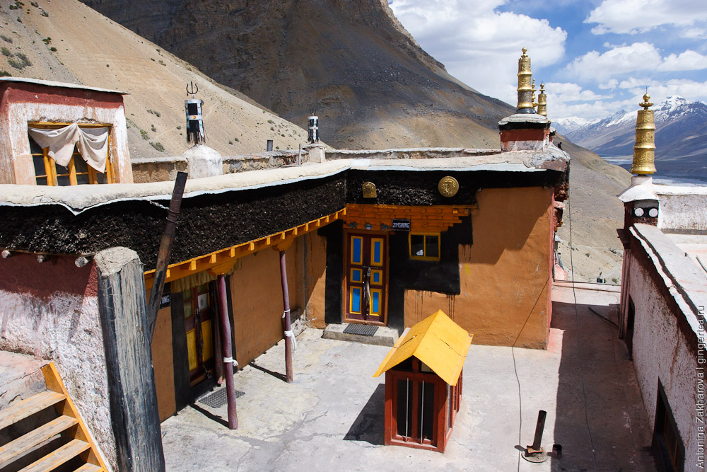 тибетский монастырь Ки в Спити, Key gompa in Spiti