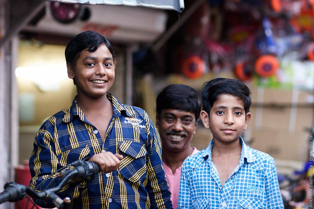 дети в Индии, Дели