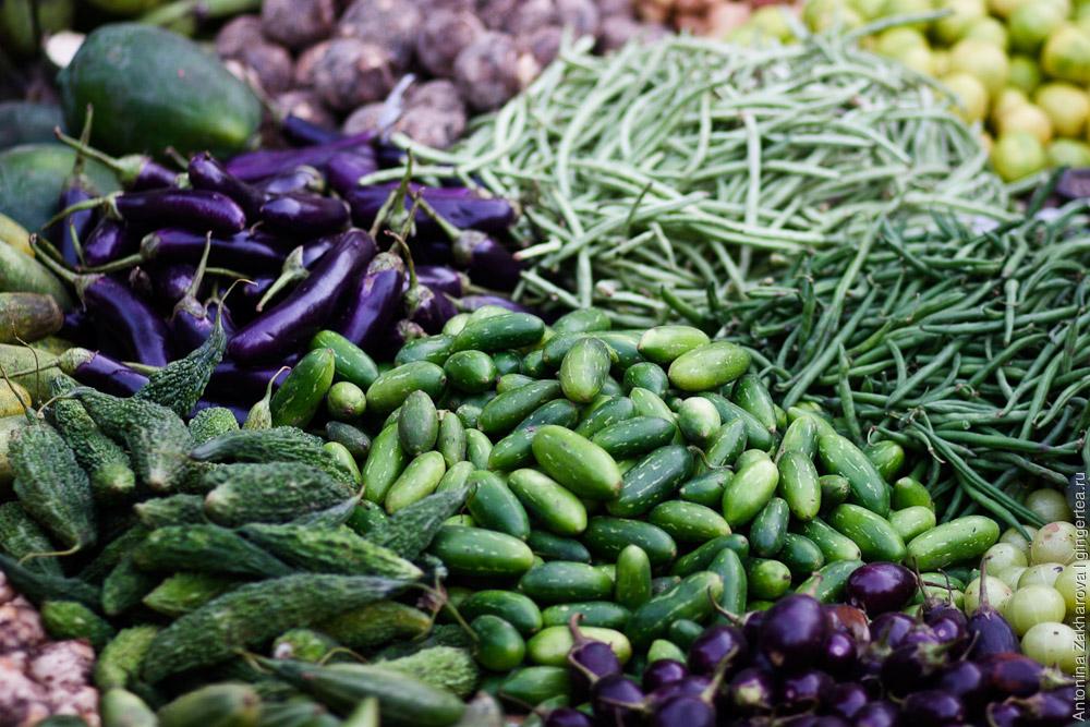 индийские овощи, indian vegetables