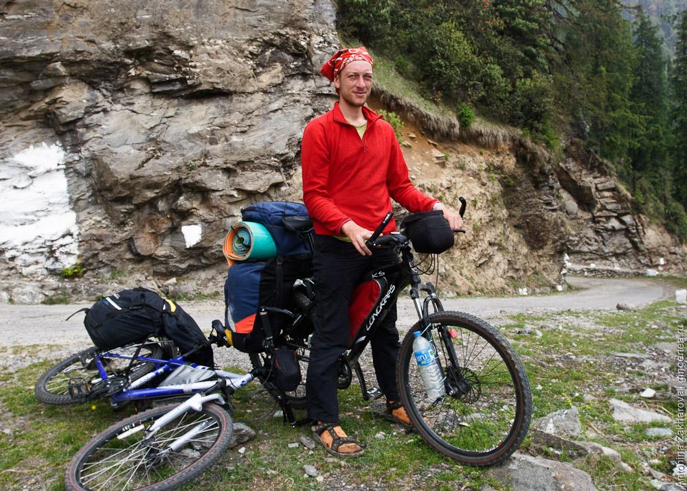 Снаряжение для велопохода: рюкзак