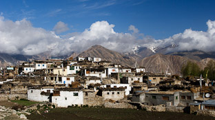 Тибетская деревня Нако