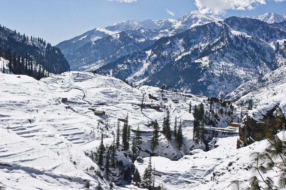 деревня Коти зимой