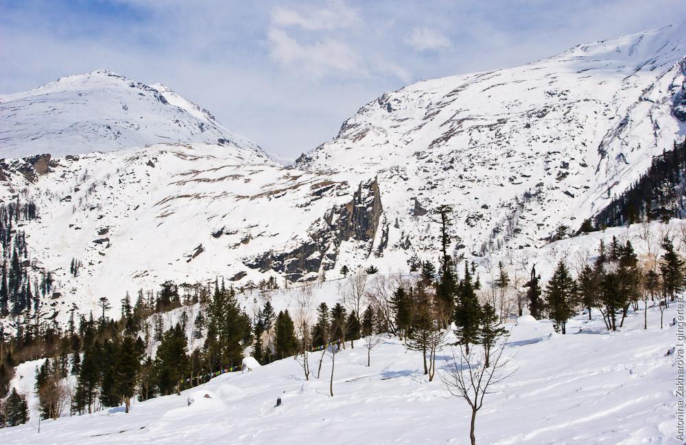 перевал Ротанг зимой