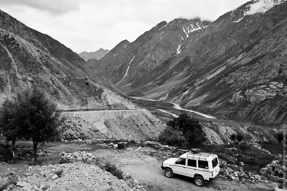Долина подхода к перевалу Шинго-Ла