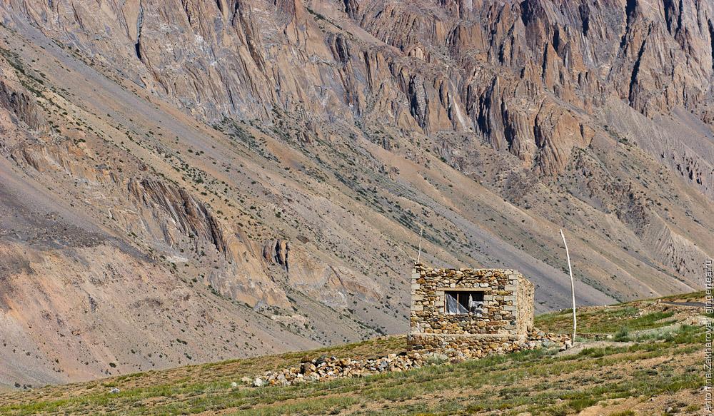маленький дом из камней, Занскар, Индия