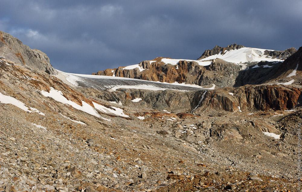 Перевал Чилунг-Ла, центральный вариант подъема, Каргил, Индия
