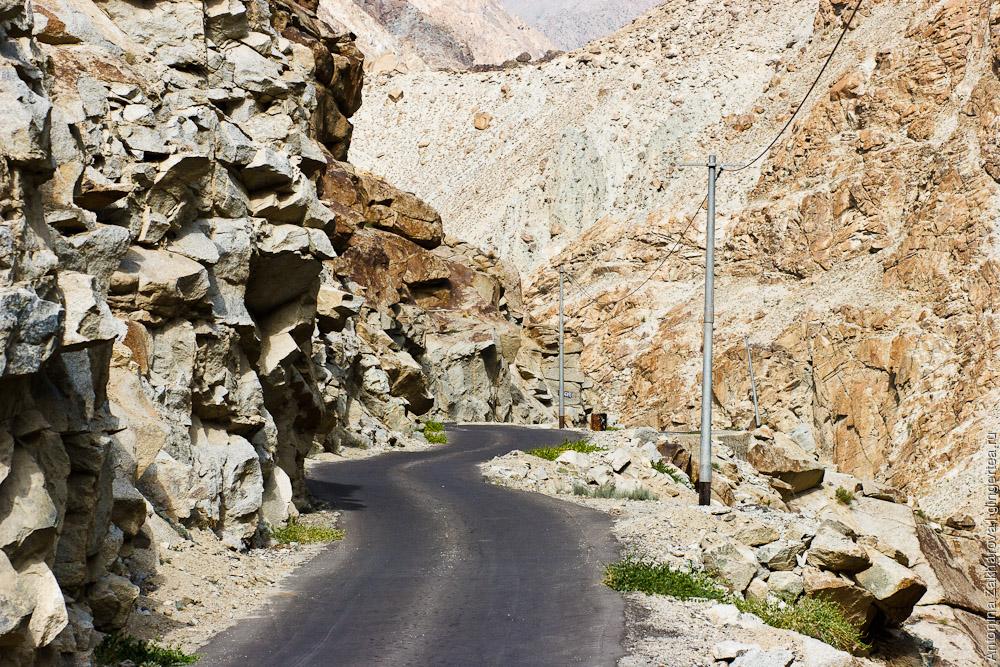 долина Инда в пограничной территории с Пакистаном, по пути в Дха
