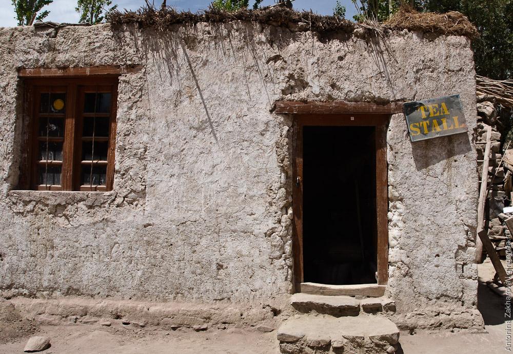 маленький магазин в долине Инда, Ладакх, Индия