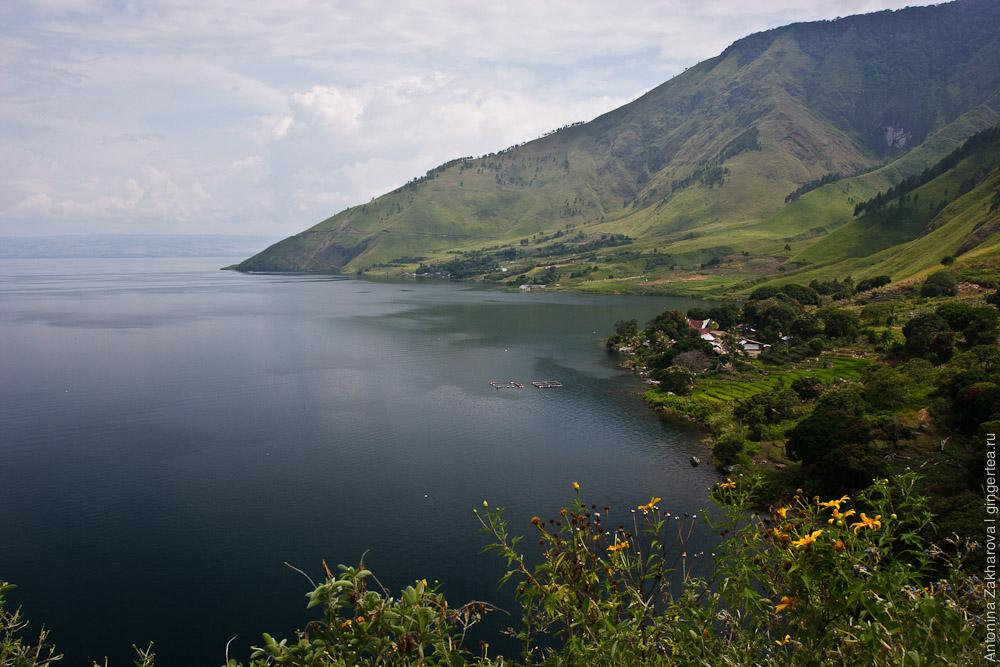 Долина реки Алас и озеро Тоба
