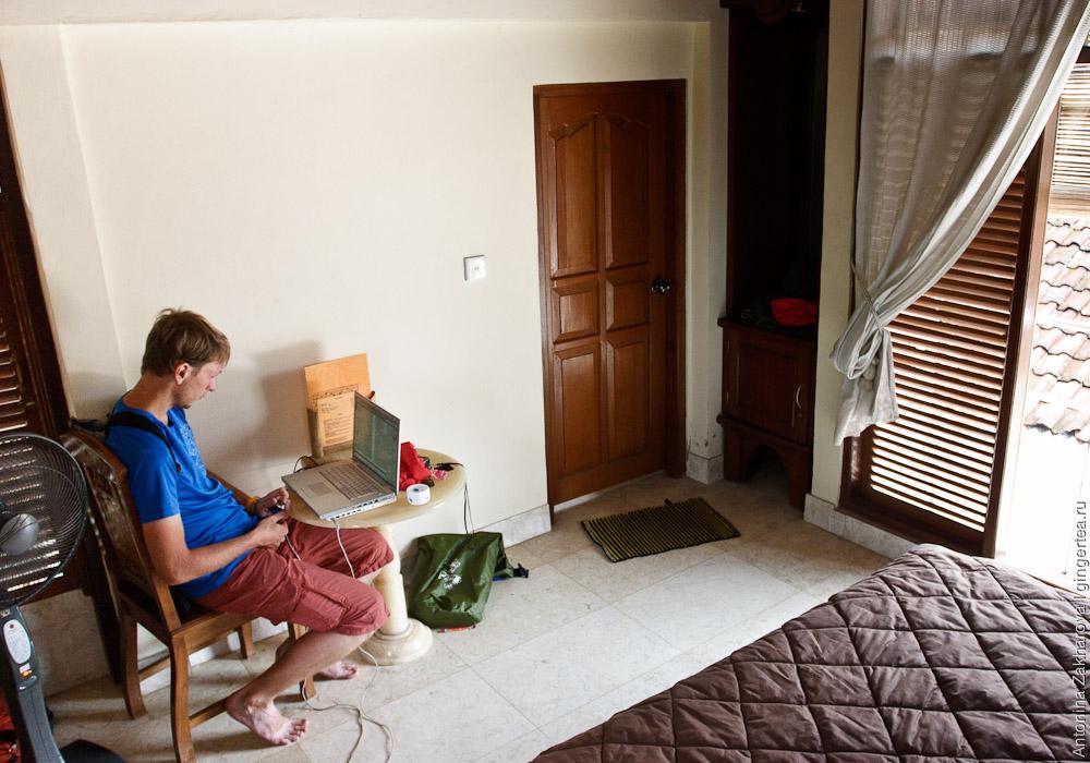 Наш прекрасный и дешевый гест хаус в Убуде