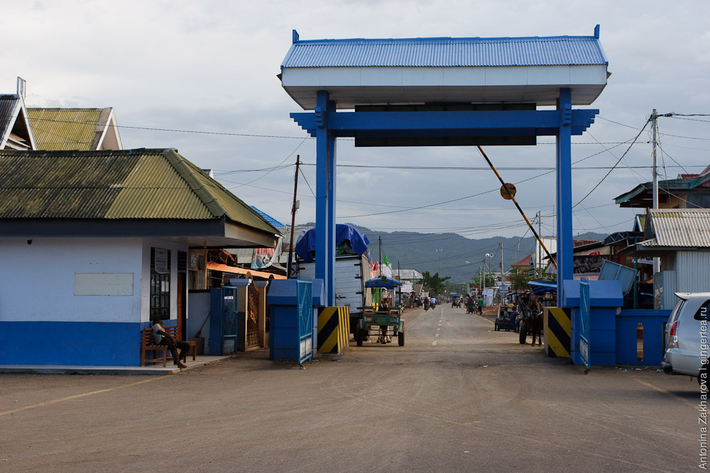 Сапе   рыбацкий поселок и порт на краю Сумбавы