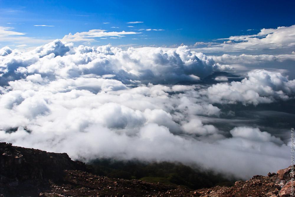 Вид с вулкана Эбулобо