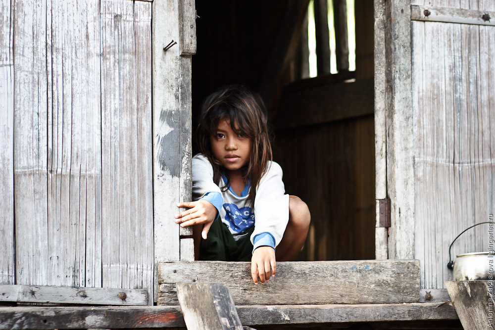 Девочка в Нангахале