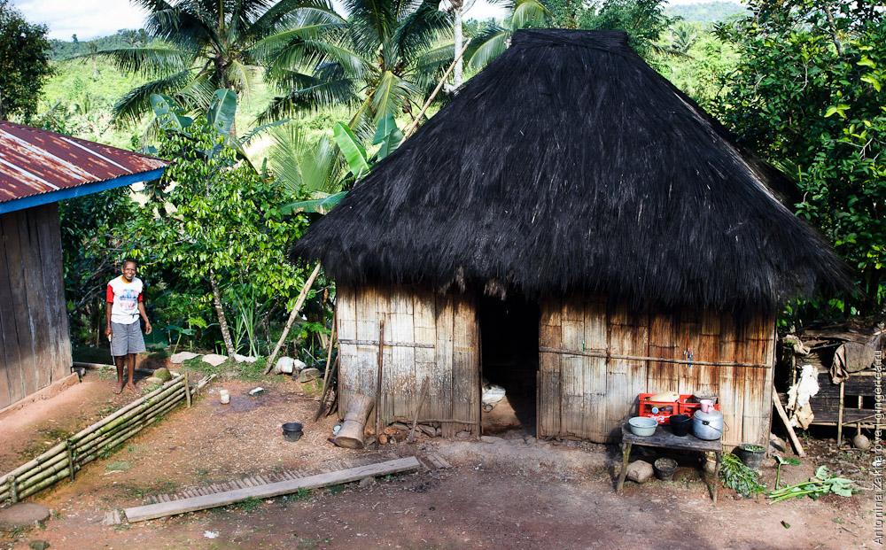 бамбуковая хижина, bamboo hut