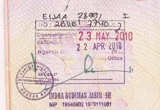 Продление визы Индонезии на Бали