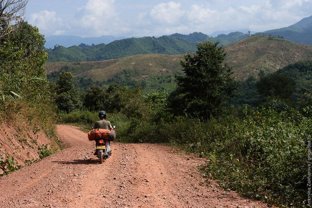 дороги в Лаосе