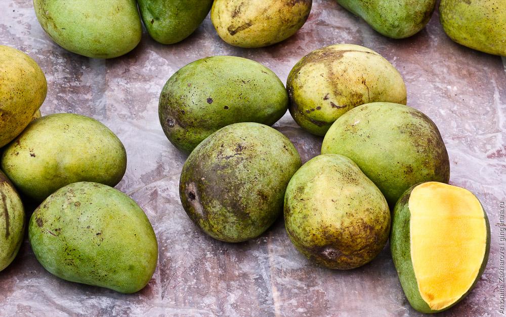 манго на базаре