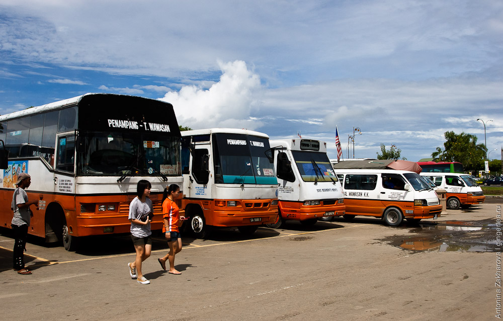 автобусная станция в Кота-Кинабалу