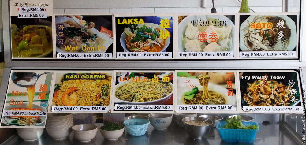 еда на Борнео