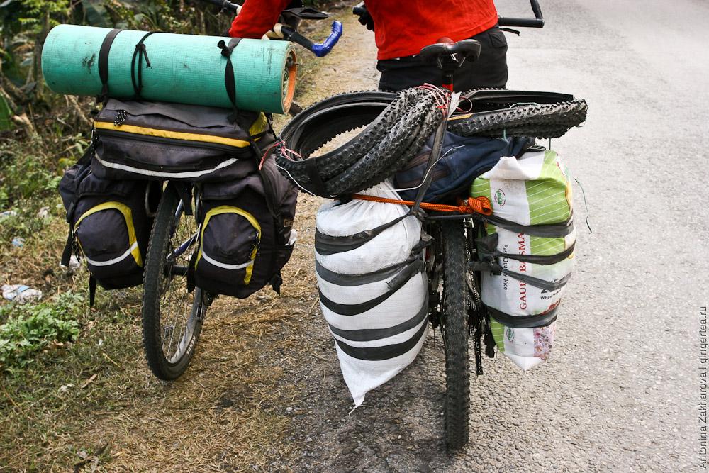 Грузовой велотуризм в стиле ретро