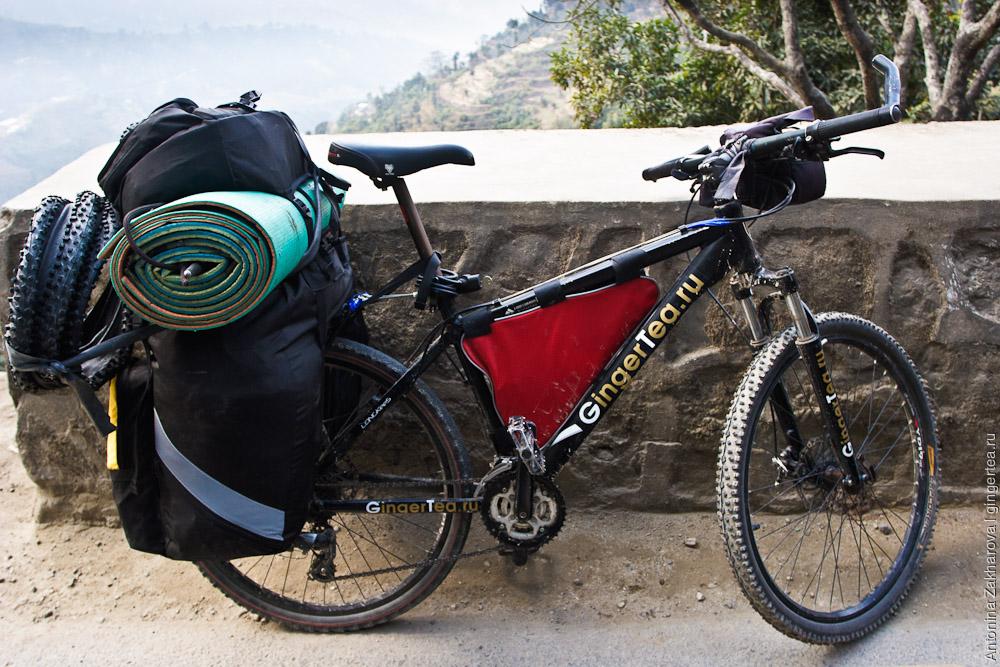 Велосипед проекта GingerTea.ru