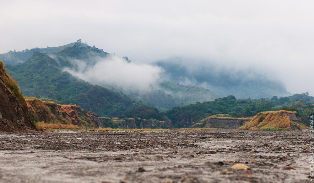 Филиппины вулкан Пинатубо, Philippines Pinatubo volcano